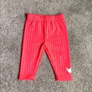 Neon Pink Polkadot Nike ✔️ Leggings